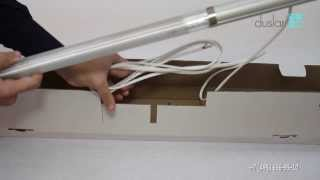 Подсветка на кухне люминесцентным светильником ORIZZONTE E(, 2013-11-28T10:58:53.000Z)