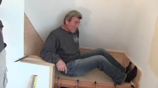 Kraftmaid Cabinetry: Steve Thomas's Reading Nook In Progress