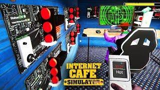 QUÁN NET ĐỤT CYBER BIẾN THÀNH MỎ ĐÀO TIỀN ẢO =))) 500 triệu 1 ngày !!! - Internet Cafe Simulator #3
