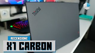 Recensione Lenovo ThinkPad X1 Carbon 7th gen 2019
