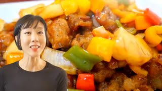 Tangsuyuk Sweet and sour pork( 탕수육)  Korean cooking with Jane