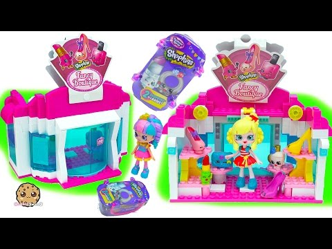 Happy Places Shoppies Dolls Visit Shopkins Fancy Boutique + Fashion Spree Blind Bags