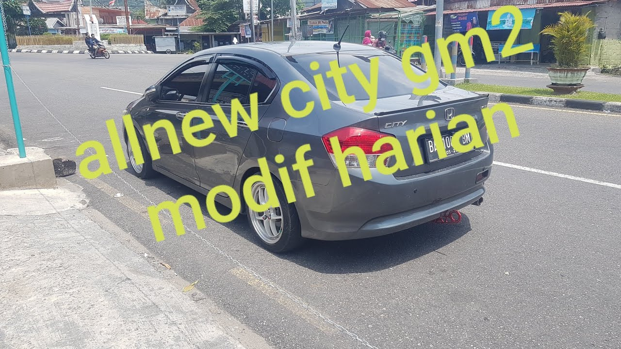 Honda City GM2 2011 Modifikasi Simpel Buat Harian
