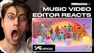 Download lagu Video Editor Reacts to TREASURE - 'MY TREASURE' M/V