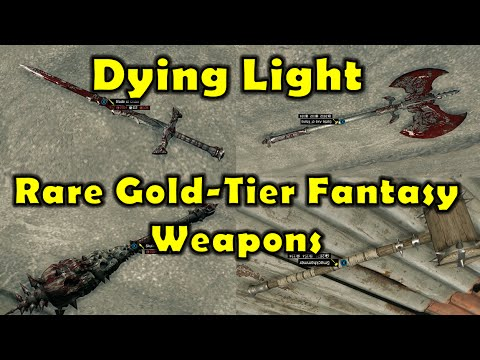 Dying Light How To Get All Gold Tier Weapons Doovi