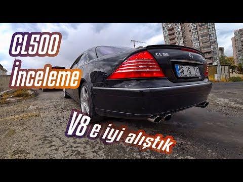 """CL500 V8 Mercedes-Benz İnceleme """"TR'de ilk"""""""
