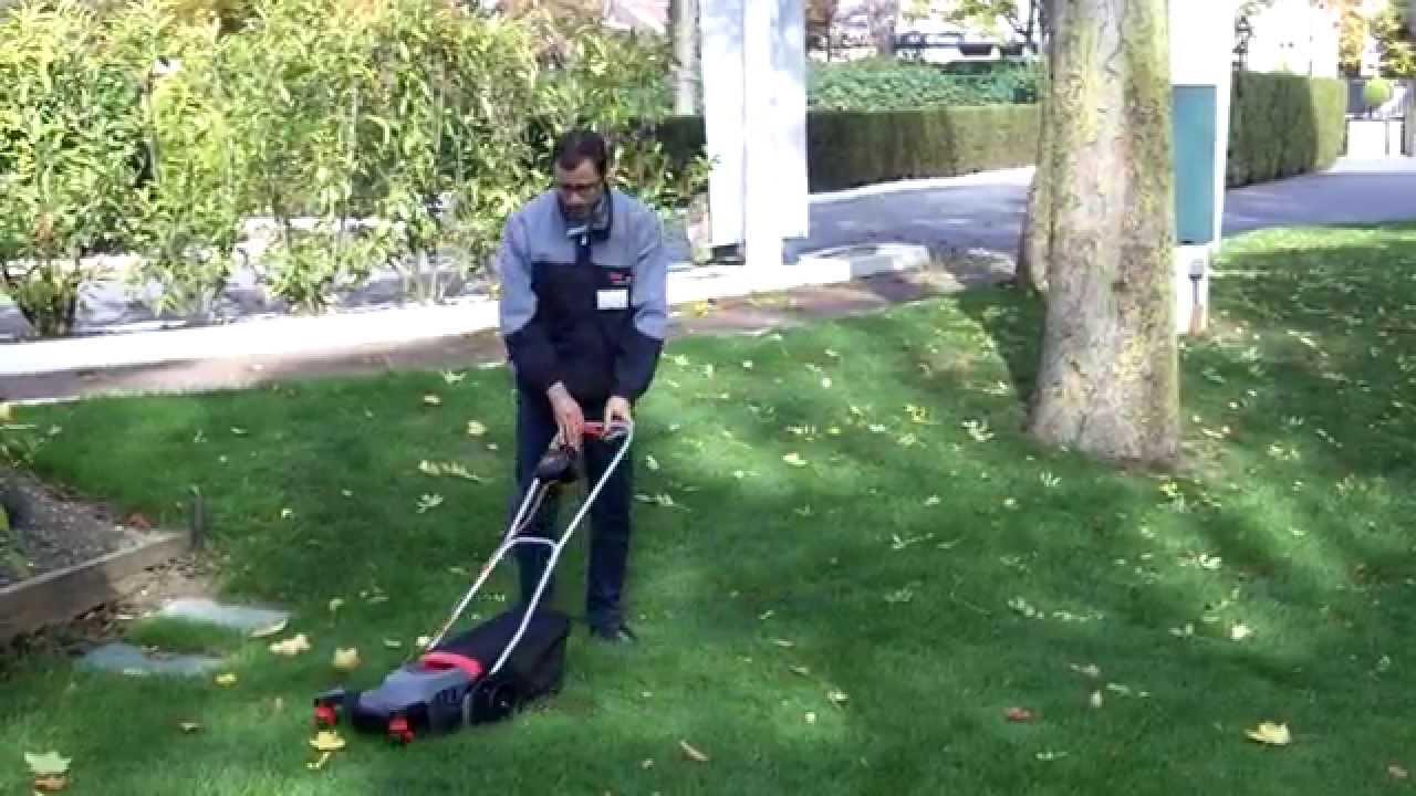 skil tondeuse gazon lectrique 0711 urban mower pour jardin en ville prsentation complte youtube - Tondeuse Jardin