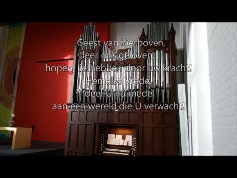 Lied 675, Geest van hierboven (in vlot tempo); Gezang 477 LvdK; samenzang
