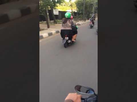 Abang grab bike yang baik Hati