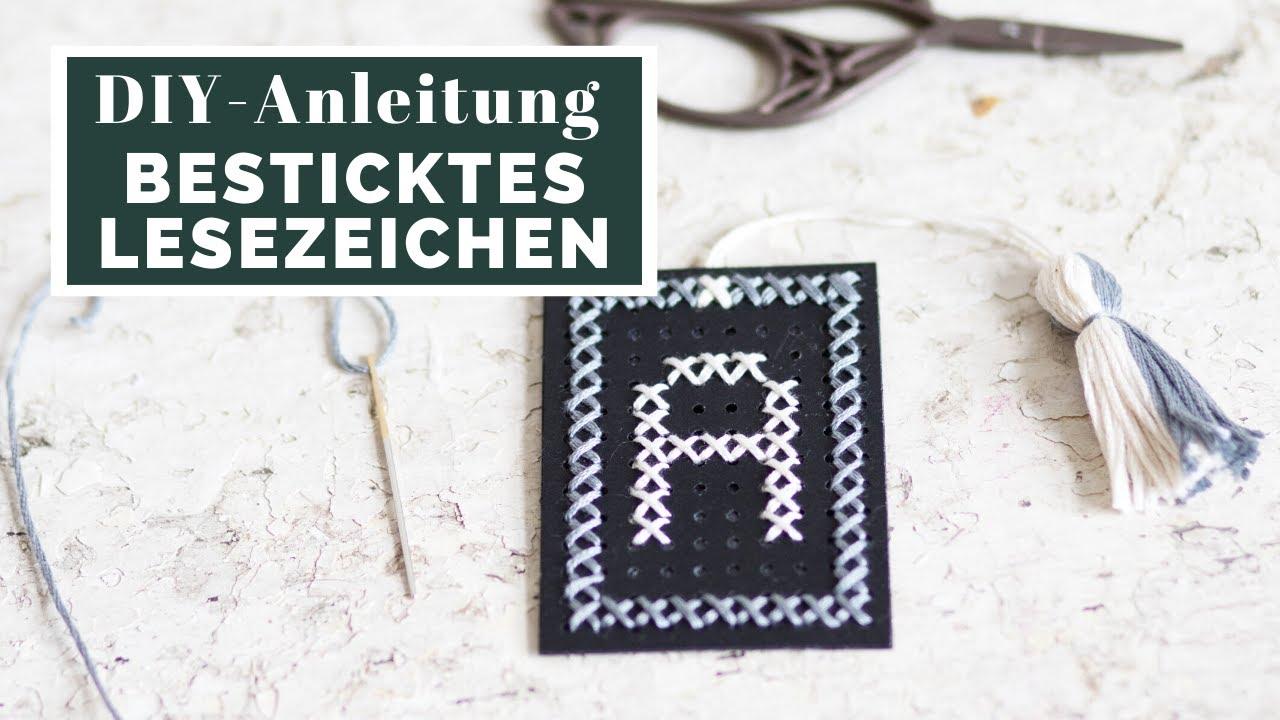 Top Buchstaben sticken mit Kreuzstich *GRATIS DOWNLOAD* | Sticken DK87