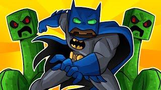 MINECRAFT pero SOMOS BATMAN SUPER PODEROSO! 💥😱 MINECRAFT ALEATORIIO