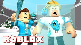 BREAKING THE ICE WITH GAMER CHAD IN ROBLOX! | MicroGuardian
