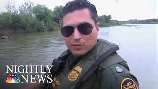 Federal Authorities Confront Smugglers Trying To Enter The U.S. Illegally | NBC Nightly News