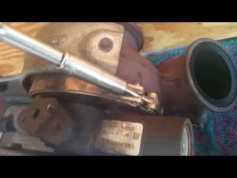 Removing/cleaning turbo ford 6.0l powerstroke