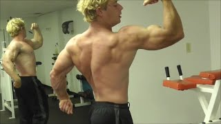 Teen Bodybuilder Dylan Annihilates Arms and Flexes Vascular Muscles