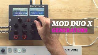 MOD Devices Mod Duo X - Generators
