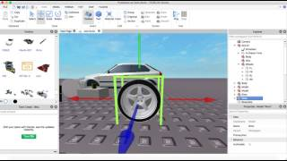 Roblox Car Tutorial - A-Chassis Wheel Swap