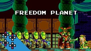 SWEET SONIC-ESQUE INDIEBOX GAME FREEDOM PLANET — UpUpDownDown Plays