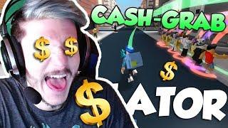 DONNEZ-MOI TOUT VOTRE ARGENT! / Cash Grab Simulator / Roblox