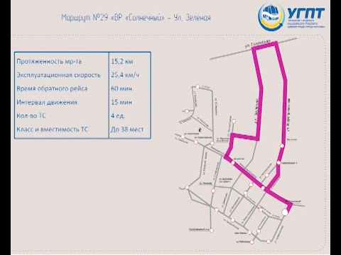 Новые маршруты общественного транспорта