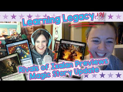Magic the Gathering Vacation Hot-Spots, Learning Legacy, + Magic Story Recap!