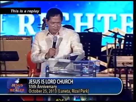 Jesus Is Lord Church 35th Anniversary-Replay