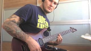 Fuck You And Die - Retrogression (Sascha Rissling - Guitar Playthrough)