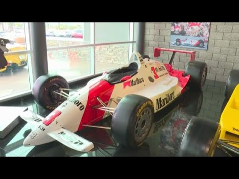 Take A Tour Of The Penske Racing Museum