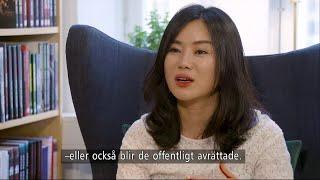 Hon flydde från Nordkorea: