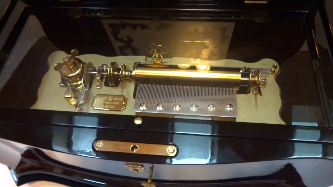 Reuge 72 note, 15 song music box