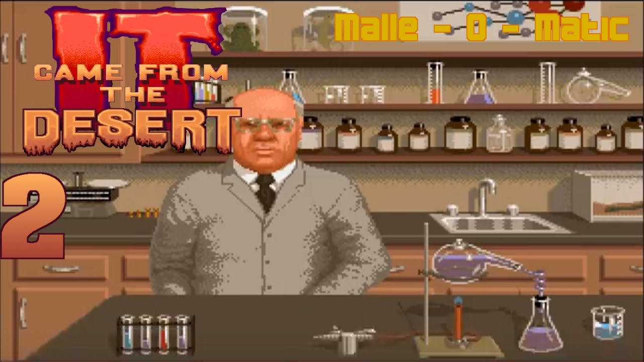 Let S Play German It Came From The Desert 2 Amiga Youtube