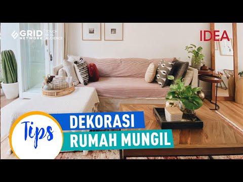 tips dekorasi rumah mungil 72 m2 | idea rumah - youtube