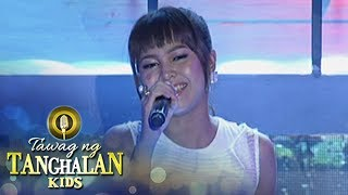 "Tawag ng Tanghalan Kids: Marielle Montellano sings ""Through The Rain"""