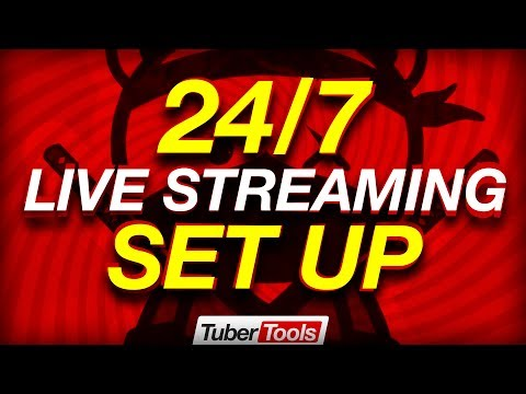 How To Livestream 24/7 on YouTube