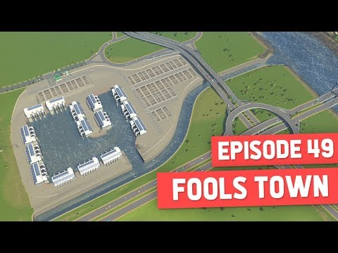 WATER TREATMENT PLANT - Cities Skylines #49