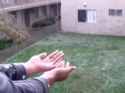 Snow storm Moreno valley CA