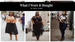 Plus Size Try On Haul   What I Wore & Bought in New York