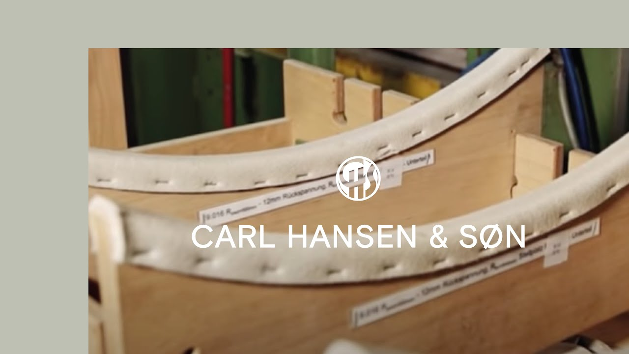 the shell chair by hans j wegner youtube