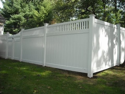 Easy Installation Vinyl Fence Prices Per Foot Youtube