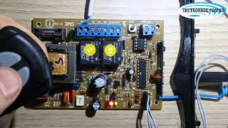 Programação placa G1 Garen/Unisystem - Modelo Antigo