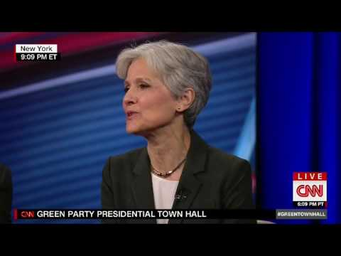 CNN Town Hall Green Party Jill Stein & Ajamu Baraka