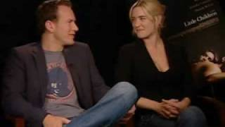 Patrick Wilson and Kate Winslet - Little Children Interview 1