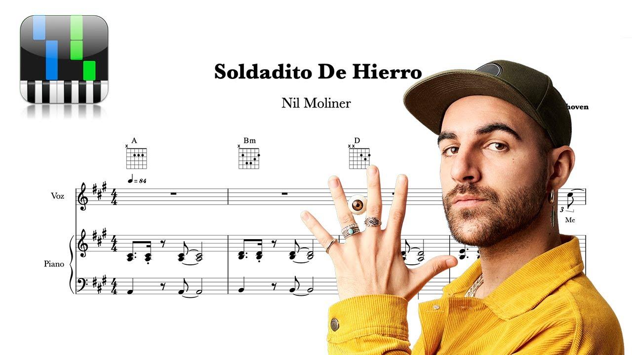 Soldadito De Hierro Nil Moliner Tutorial Piano Partitura Gratis Youtube