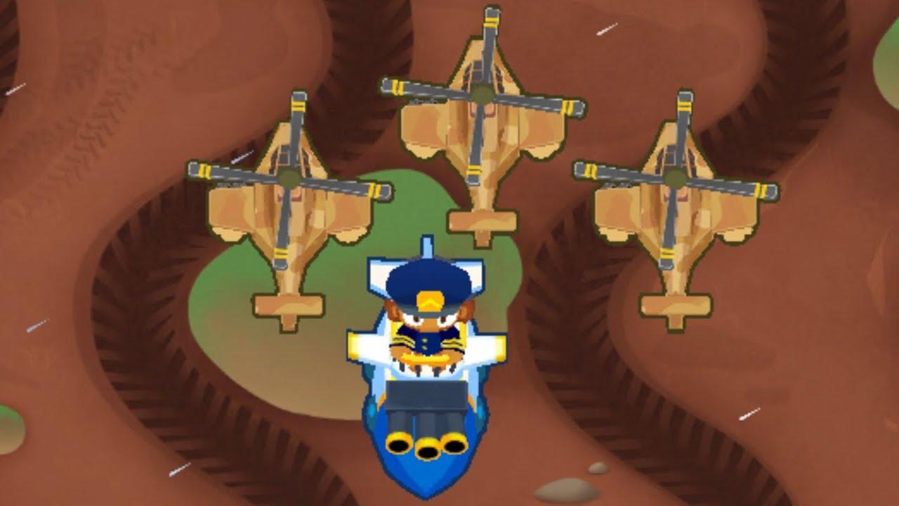 BTD6 - Muddy Puddles CHIMPS with Comanche Commander