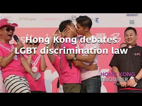 Hong Kong debates LGBT discrimination law