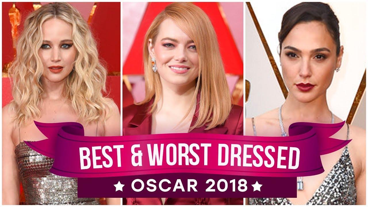 The Oscars 2018 red carpet fashion: Jennifer Lawrence, Sandra Bullock, Margot ...