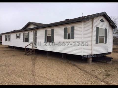 Solitaire bank repo used single wide 3 bedroom $22,000 - YouTube