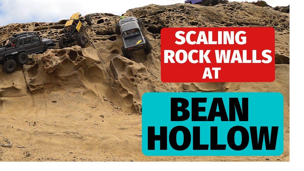 Bean Hollow Crawl Session - Axial Capra, Traxxas TRX-6, Vanquish VS410