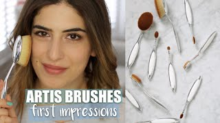 Artis Brushes: First Impressions | Lily Pebbles