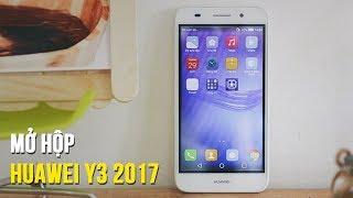 Đập hộp Huawei Y3 2017 - Chiếc smartphone giá rẻ chỉ dưới 2,5 triệu